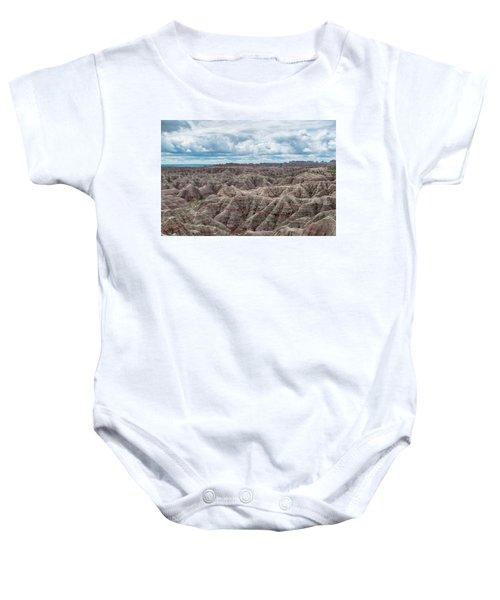 Big Overlook Badlands National Park  Baby Onesie