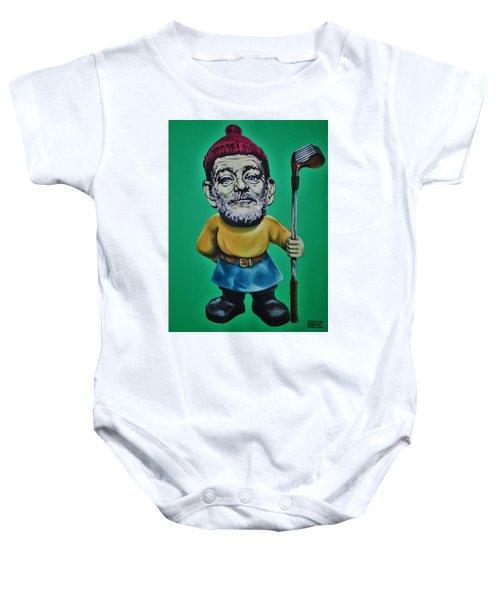 Bill Murray Golf Gnome Baby Onesie