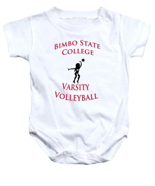 Bimbo State College - Varsity Volleyball Baby Onesie