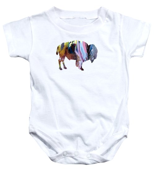 Bison Baby Onesie