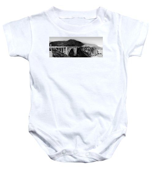 Bixby Bridge - Big Sur - California Baby Onesie