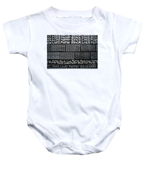 Black Lives Matter Wall Part 3 Of 9 Baby Onesie