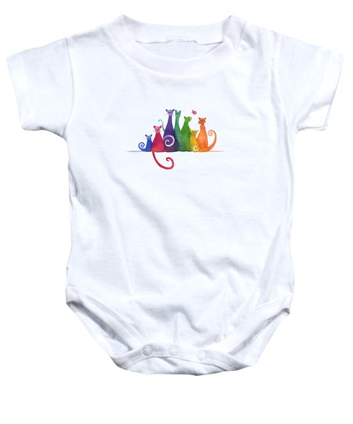Blended Family Of Seven Baby Onesie
