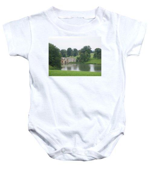 Blenheim Palace Lake Baby Onesie