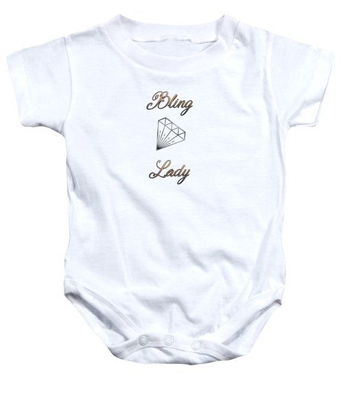 Bling Lady Baby Onesie