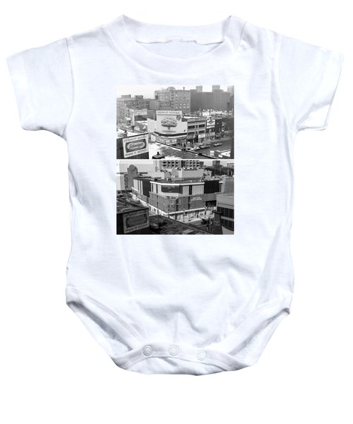 Block 'e' In Minneapolis Baby Onesie