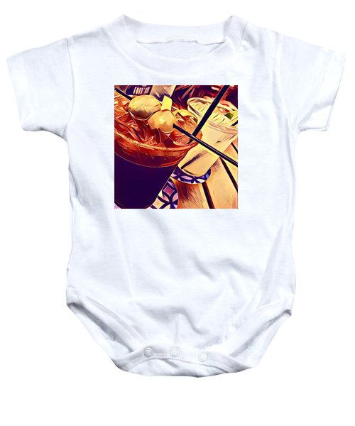 Bloody Mary And Moscow Mule Baby Onesie by Frush Photos