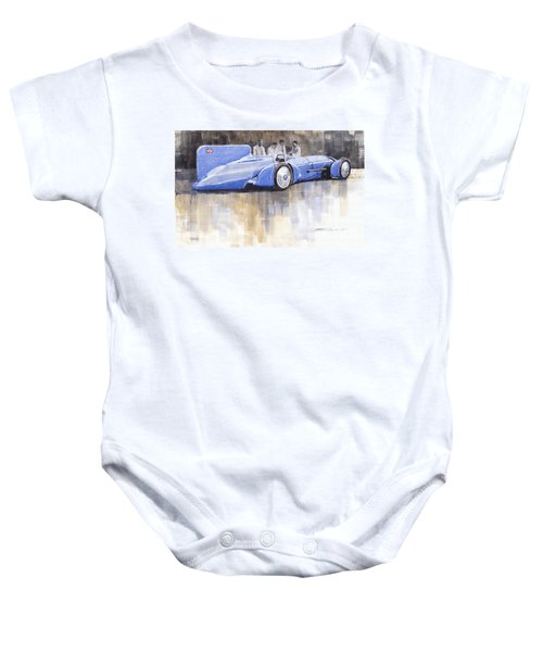 Bluebird World Land Speed Record Car 1931 Baby Onesie