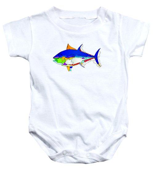 Bluefin Tuna  Baby Onesie