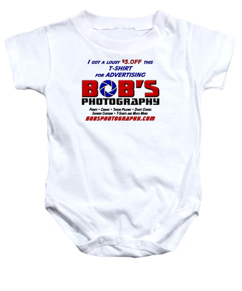Bobs Photography T-shirt Baby Onesie