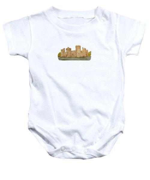 Bodiam Castle Baby Onesie