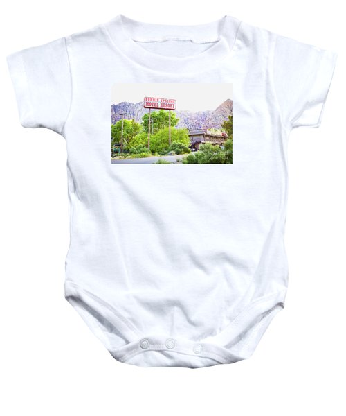 Bonnie Springs Motel Resort Baby Onesie