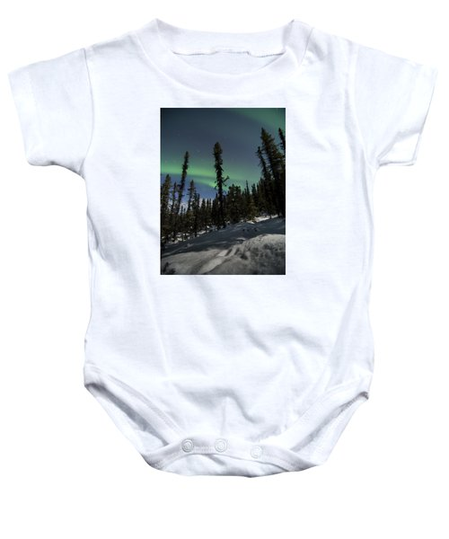 Boreal Forest Essence Baby Onesie