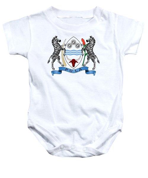 Botswana Coat Of Arms Baby Onesie