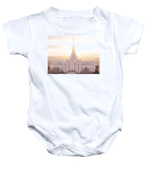 Bountiful Golden Glow Baby Onesie