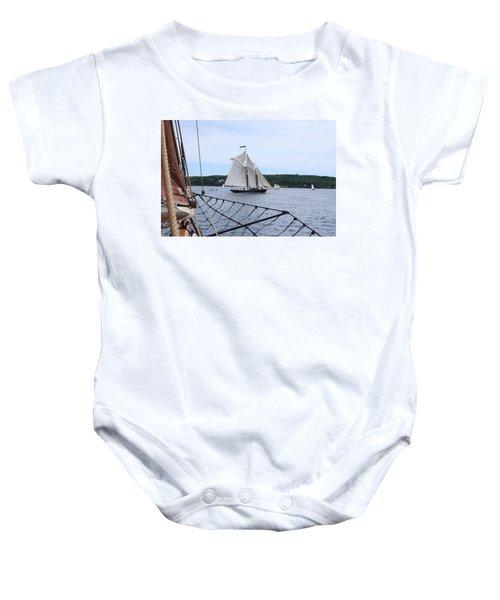 Bowditch Under Full Sail Baby Onesie