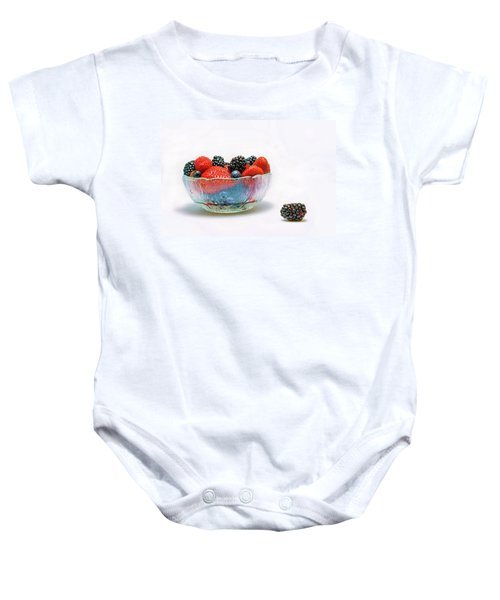 Bowl Of Berries Baby Onesie