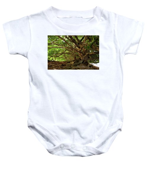 Branches And Roots Baby Onesie
