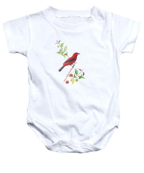 Brazilian Tanager Baby Onesie
