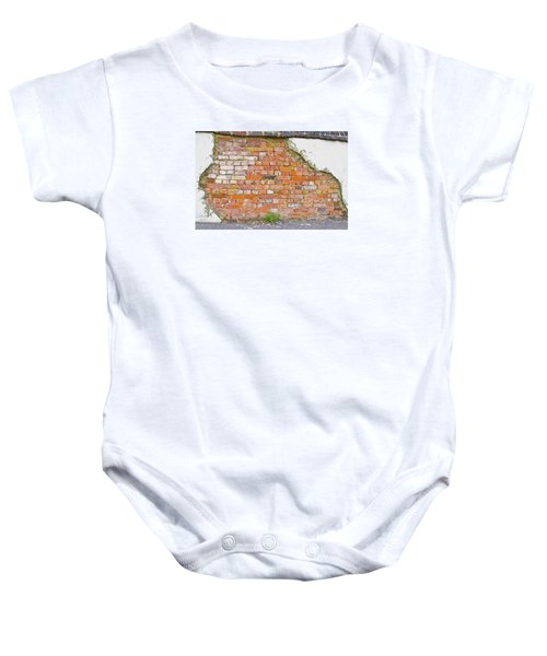 Brick And Mortar Baby Onesie