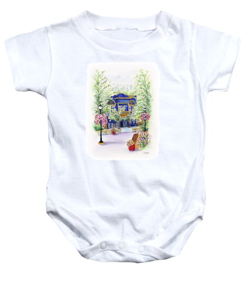 Brickroom On The Plaza Baby Onesie