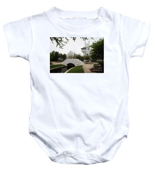 Bridge In Alys Beach Baby Onesie