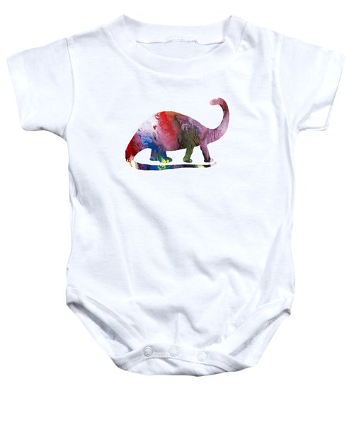 Brontosaurus Baby Onesie