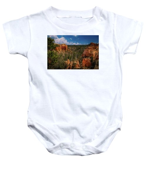 Bryce Canyon From The Top Baby Onesie