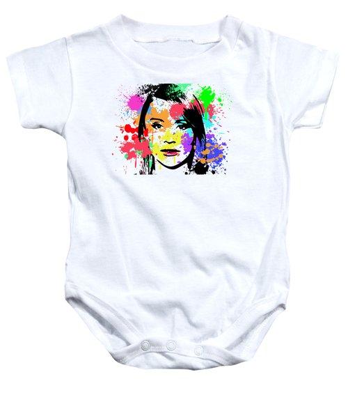 Bryce Dallas Howard Pop Art Baby Onesie