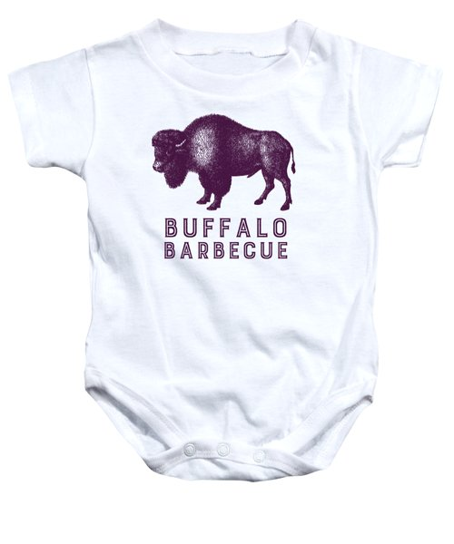 Buffalo Barbecue Baby Onesie