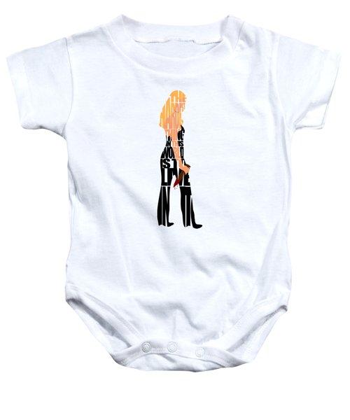 Buffy The Vampire Slayer Baby Onesie