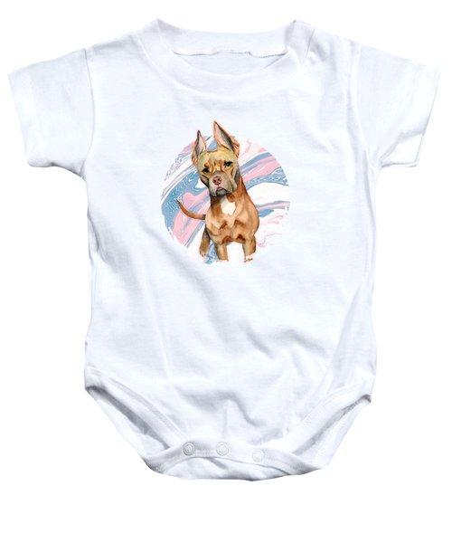 Bunny Ears Baby Onesie