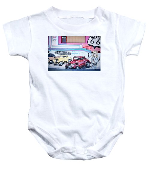 Burger Hut Baby Onesie