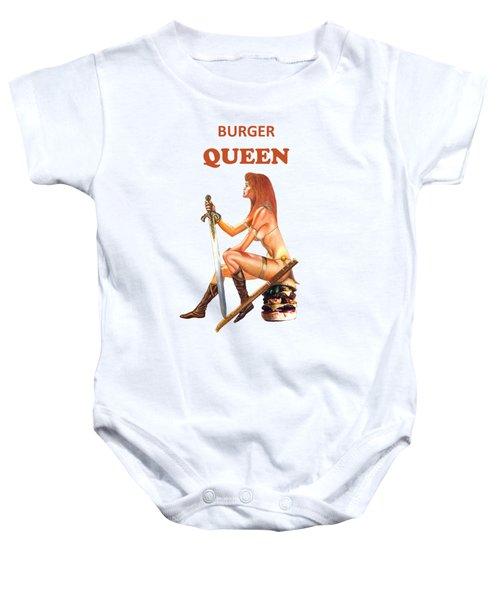 6328be54a Hamburger Baby Onesies | Fine Art America