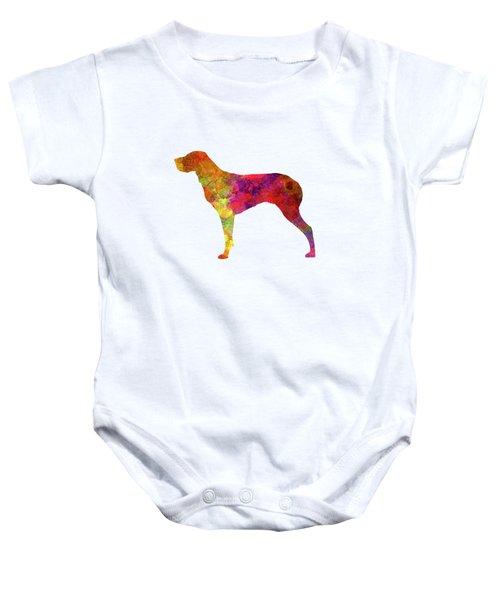 Burgos Pointer In Watercolor Baby Onesie