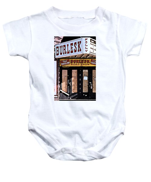 Burlesk At The Folly Baby Onesie