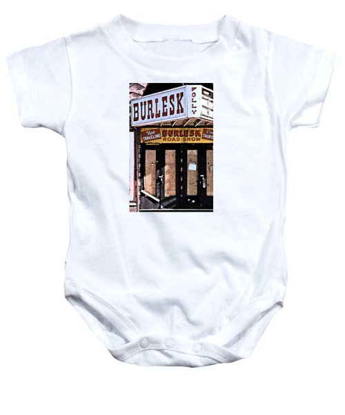 Burlesk At The Folly Baby Onesie