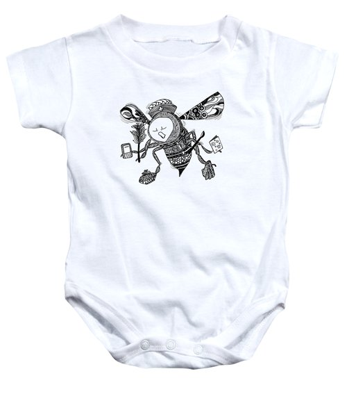 Busy Bee Baby Onesie