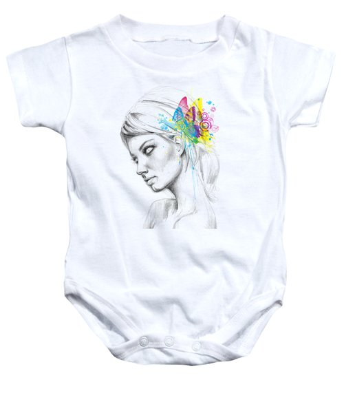 Butterfly Queen Baby Onesie