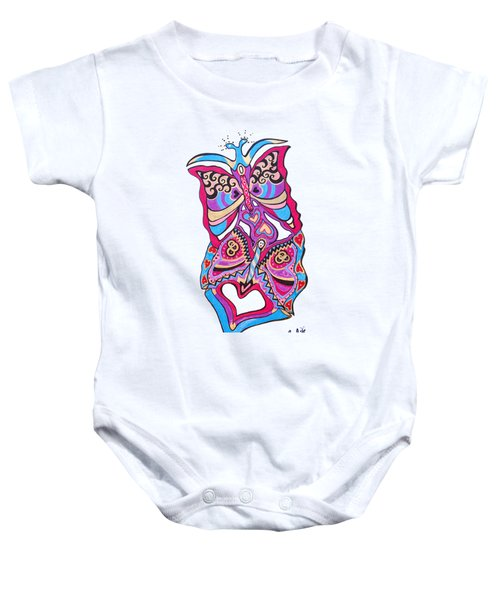 Butterfly Totem Baby Onesie