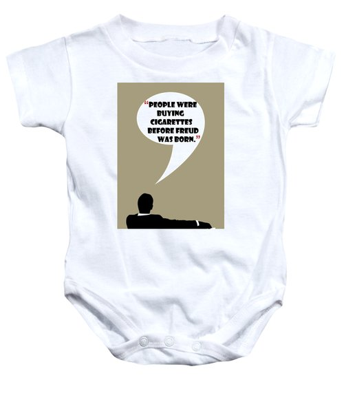 Buying Cigarettes - Mad Men Poster Don Draper Quote Baby Onesie