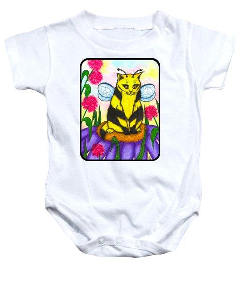 Buzz Bumble Bee Fairy Cat Baby Onesie