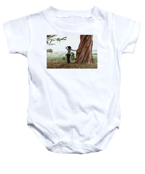 By The Cypress Baby Onesie