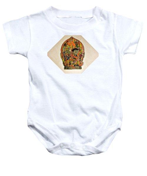C3po Star Wars Afrofuturist Collection Baby Onesie