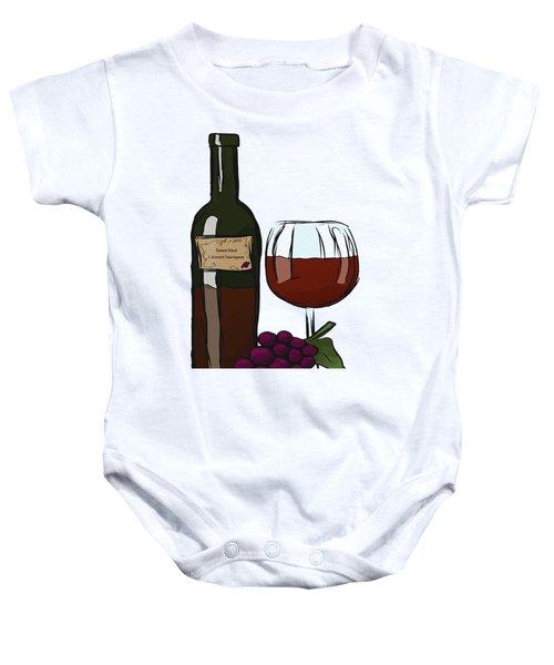 Cabernet Sauvignon Baby Onesie