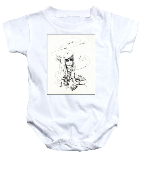 Cafe Lady Baby Onesie