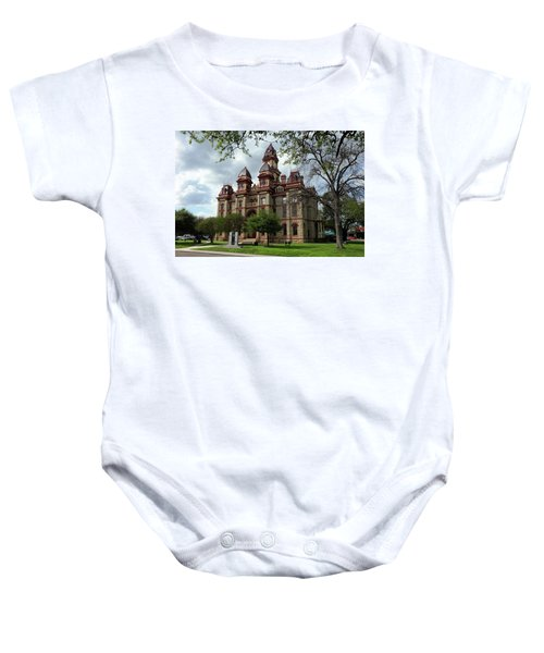 Caldwell County Courthouse Baby Onesie