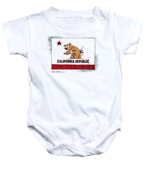 California Budget Harakiri Baby Onesie
