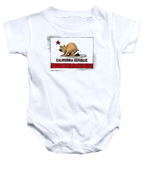 California Budget Iou Baby Onesie