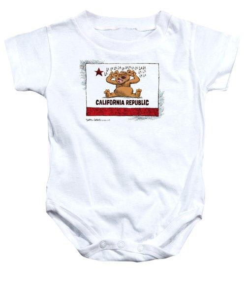 California Budget La La La Baby Onesie